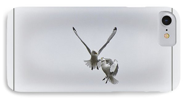 Kittiwakes Flight IPhone Case by Heiko Koehrer-Wagner