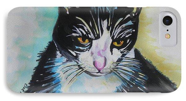 Kitty ..all Grown Up Phone Case by Chrisann Ellis