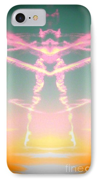 Kitty Cat Contrail Ballerina IPhone Case