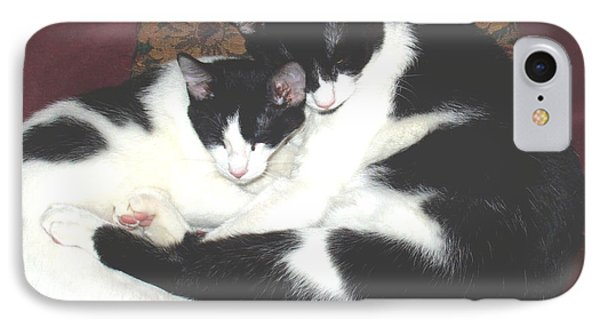 Kitty Love IPhone Case by Marna Edwards Flavell