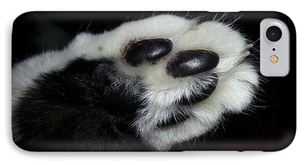 Kitty Toe Beans Phone Case by Heather L Wright