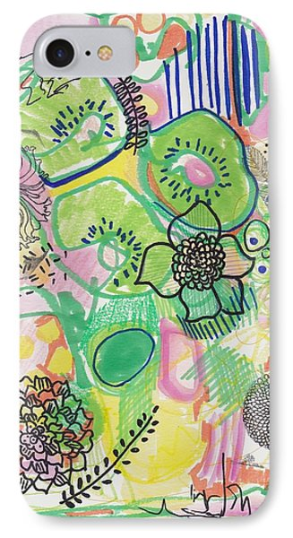 Kiwi Abstract IPhone Case