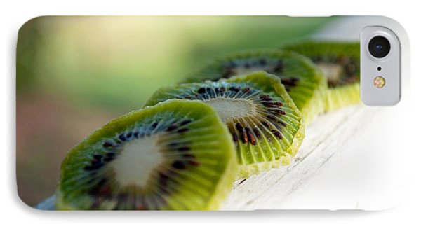Kiwi Four IPhone Case by Gwyn Newcombe