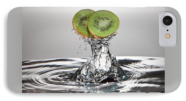 Kiwi Freshsplash IPhone Case by Steve Gadomski