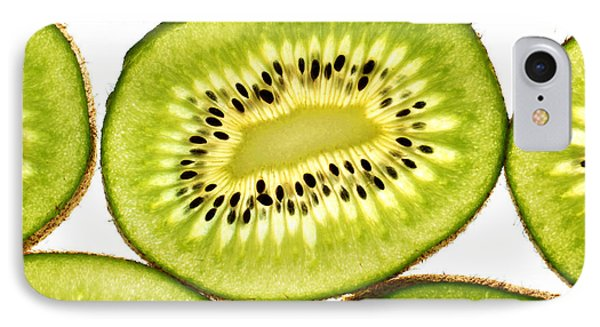 Kiwi Fruit IIi IPhone Case by Paul Ge