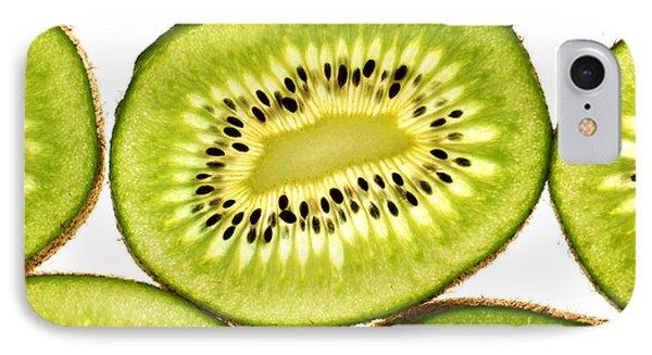 Kiwi Fruit IIi IPhone Case by Paul Ge