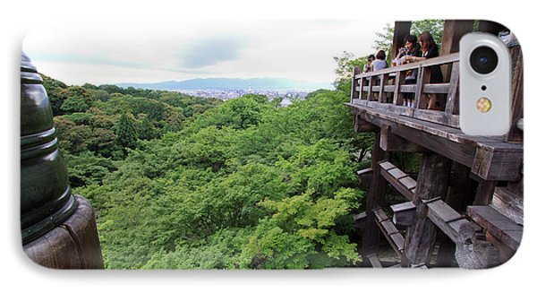 Kiyomizudera Temple Is One Of Kyoto's IPhone Case by Paul Dymond