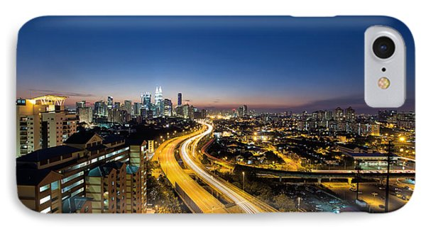 Kl At Blue Hour Phone Case by David Gn