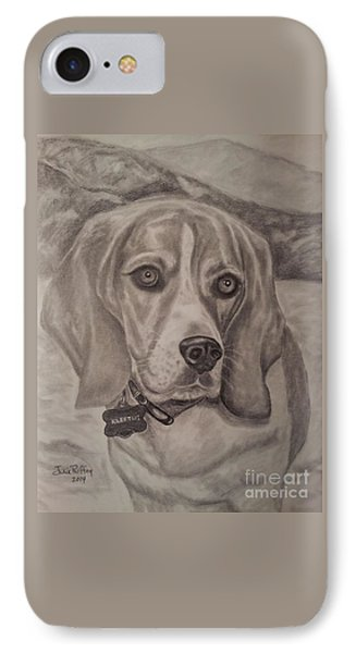 Kleetus - The Beagle IPhone Case by Julie Brugh Riffey