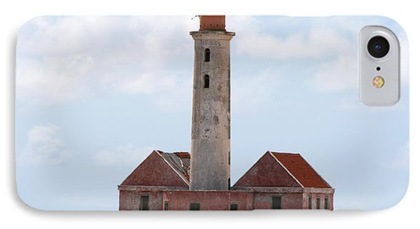 Klein Curacao Lighthouse IPhone Case by David Millenheft