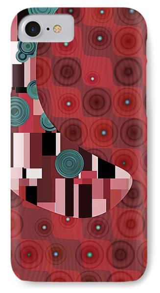 Klimtolli - 01rdbl01 IPhone Case by Variance Collections