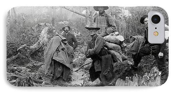 Klondike Gold Rush Miners  1897 IPhone Case