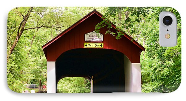 Knecht's Covered Bridge Phone Case by Paul Ward