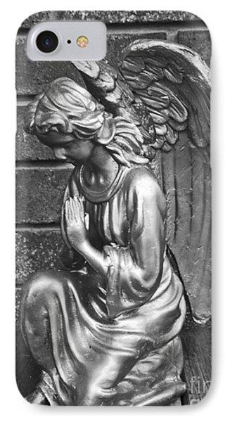 Kneeling Angel IPhone Case by Lyric Lucas