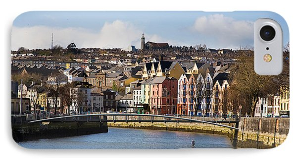 Kneeling Canoe, River Lee, Cork City IPhone Case by Panoramic Images