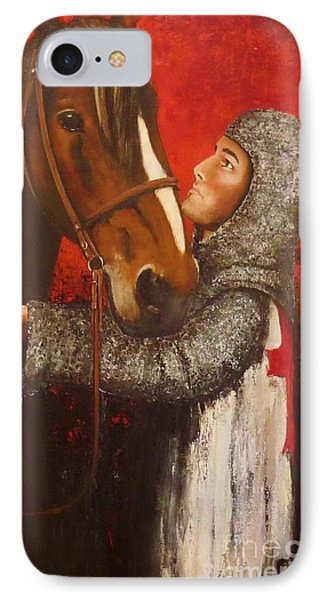 Knight And Horse IPhone Case