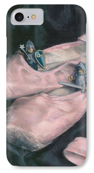 Knights In Pink Satin IPhone Case