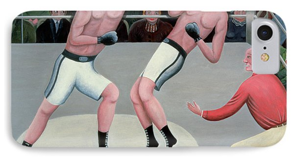 Knock Out IPhone Case by Jerzy Marek