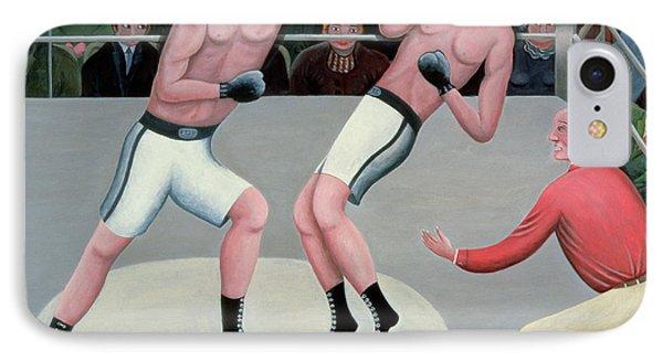 Knock Out Phone Case by Jerzy Marek