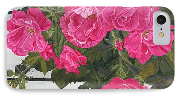 Knock Out Roses IPhone Case by Wendy Shoults