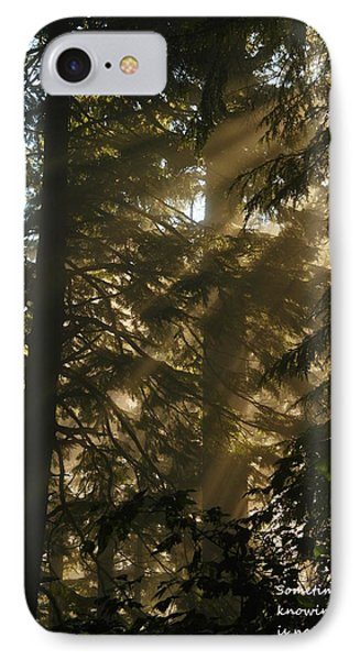 Knowing The Way Phone Case by Jeff Swan