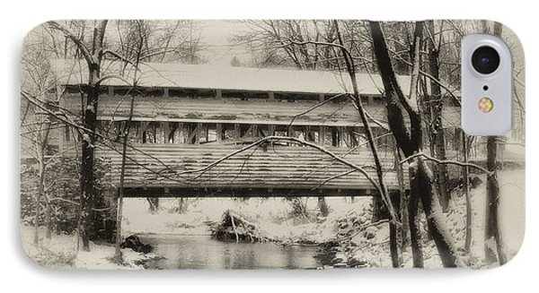 Knox Valley Forge Covered Bridge Phone Case by Bill Cannon