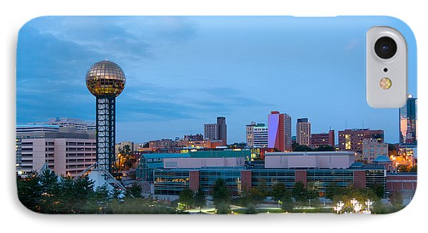Knoxville At Dusk IPhone Case