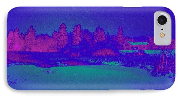 Knuutila Infrared IPhone Case by Jouko Lehto