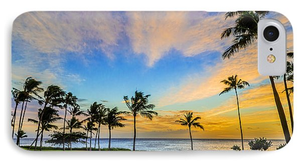 IPhone Case featuring the photograph Ko Olina Cloudy Sunset by Aloha Art