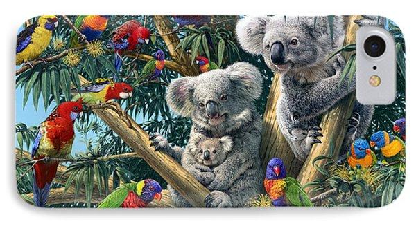 Koala Outback IPhone Case by Steve Read