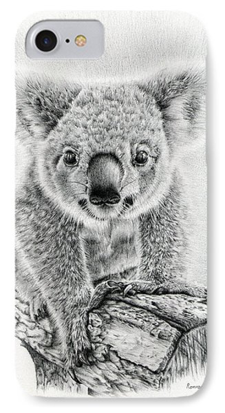 Koala Oxley Twinkles IPhone 7 Case by Remrov
