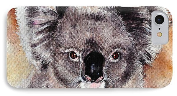 IPhone Case featuring the painting Koala  by Sandra Phryce-Jones