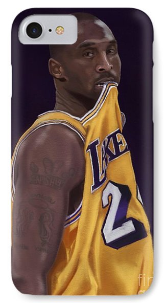 Kobe Bean Bryant Phone Case by Jeremy Nash