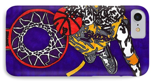 Kobe Bryant Phone Case by Jeremiah Colley