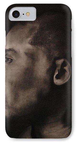 Kobe Charcoal 1 IPhone Case