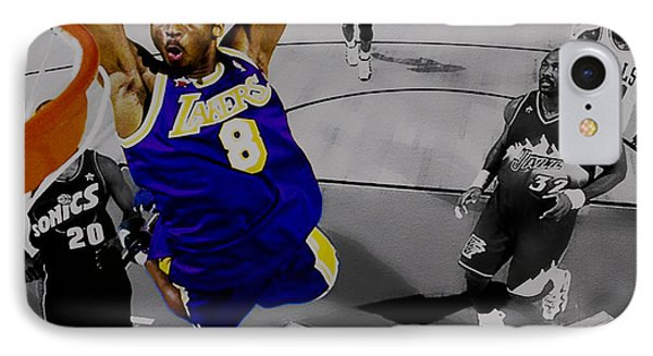 Kobe Took Flight II IPhone Case by Brian Reaves