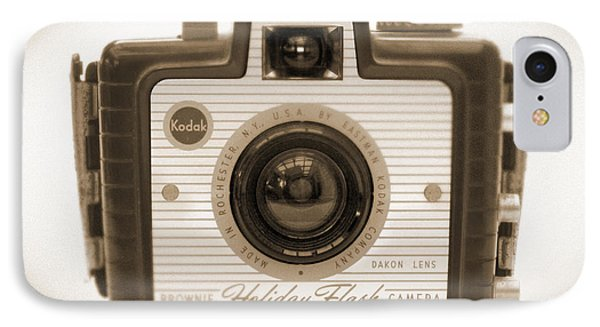 Kodak Brownie Holiday Flash Phone Case by Mike McGlothlen