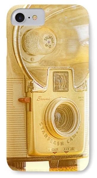 Kodak Brownie Starflash Camera IPhone Case by Jon Woodhams