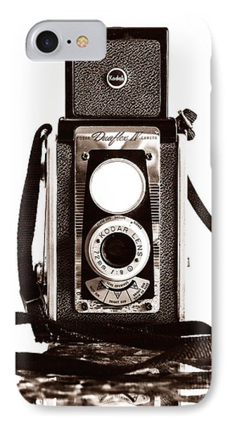 Kodak Duaflex Iv Camera IPhone Case by Jon Woodhams