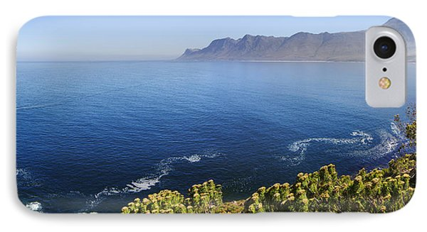 Kogelberg Area View Over Ocean IPhone Case by Johan Swanepoel