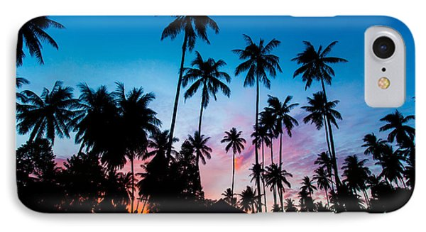 Koh Samui Sunrise IPhone Case by Mike Lee
