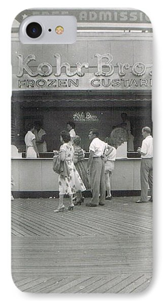 Kohr Bros Frozen Custard Atlantic City Nj Phone Case by Joann Renner