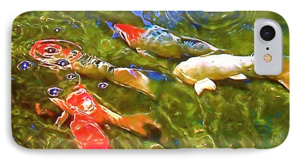 IPhone Case featuring the photograph Koi 1 by Pamela Cooper