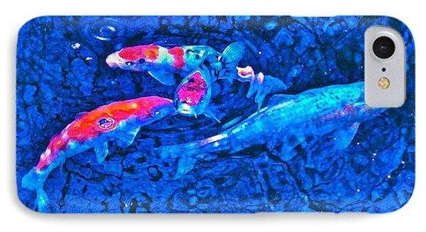 IPhone Case featuring the photograph Koi 2 by Pamela Cooper