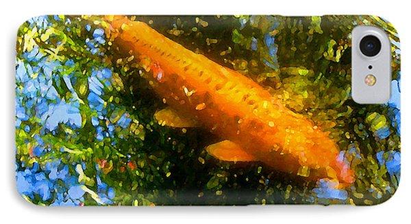 Koi Fish 1 Phone Case by Amy Vangsgard