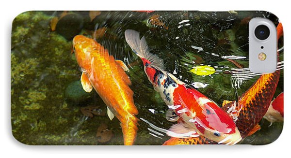 IPhone Case featuring the photograph Koi Fish Japan by John Swartz