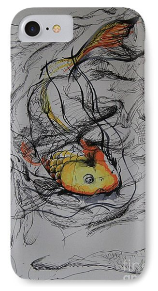 Koi In My Pillow IPhone Case