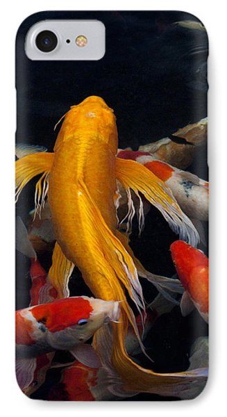 koi IPhone Case by James Roemmling