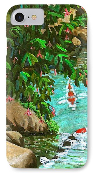 Koi Kingdom IPhone Case by Dan Redmon