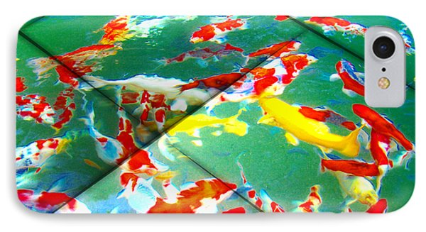 Koi Mosaic II IPhone Case
